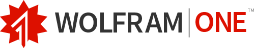 WolframOne logotype
