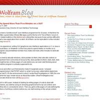 The Wolfram Blog launches…