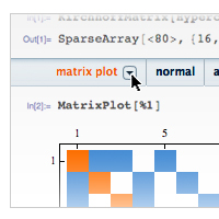 2012: The new Wolfram Predictive Interface dramatically improves navigation and discovery of Mathematica's functionality