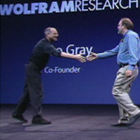 2005: Mathematica is the first major app running on Intel Macs