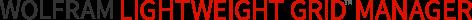 Wolfram Lightweight Grid Manager logotype